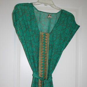 100% Silk sari style dress